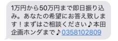 0358102809の本田企画からのメール