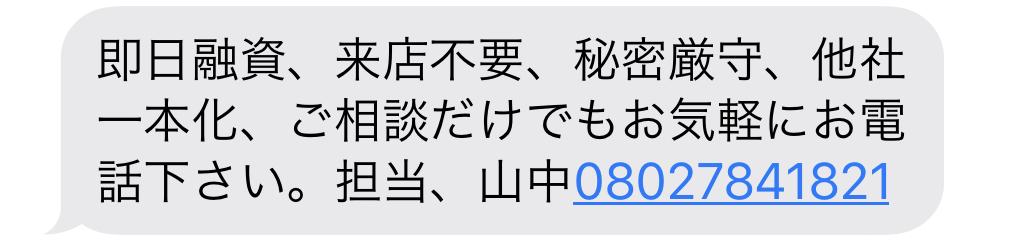 08027841821からのメール