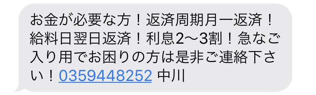 0359448252からのメール